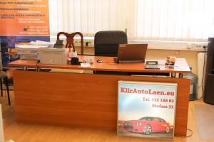 Kiirautolaen kontor