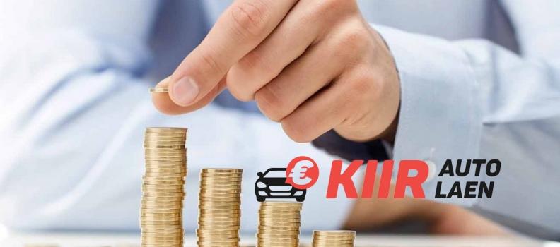 Ajutise töökaotuse laen auto tagatisel