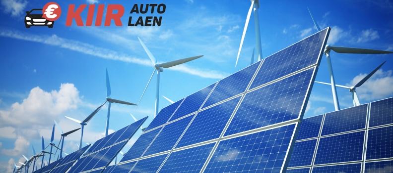 Rohelise energia laen auto tagatisel