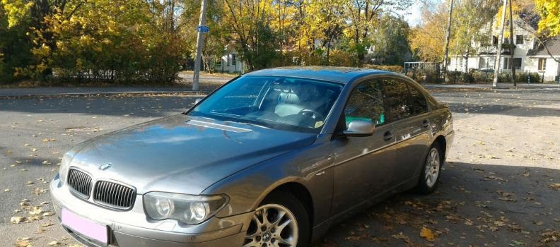 BMW 730 SportPakett Shadowline 3.0 TDI 160kW